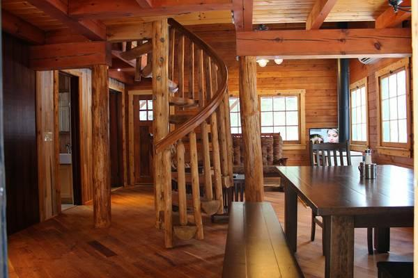 New Log Cabin On Two Picturesque Trout Streams - Titusville
