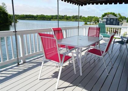 Afternoon Delight: Toast The Beauty Of The River From The Waterfront Deck - Beverly, MA - North Shor