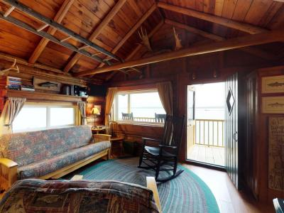 Lakefront Cabin w/Epic Views Of Lake & Mt Kineo & Private Dock - Dogs OK - Rockwood, ME - Kennebec &